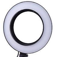 Кольцевая светодиодная лампа 16 см для телефона