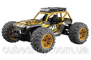 Машинка на радиоуправлении 1:12 UJ Pioneer 4WD (желтая)