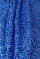 Полотенце махровое синее 70*140