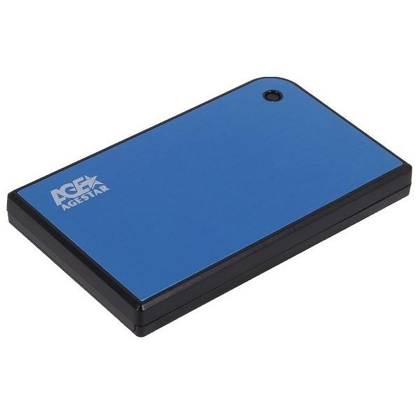 Кишеня для жорстких дисків Agestar 3UB2A14 Blue