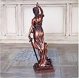 Статуэтка Фемида большая 72 см из полистоуна, фото 3