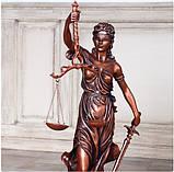 Статуэтка Фемида большая 72 см из полистоуна, фото 2