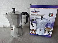 Гейзерная кофеварка Bohmann BH-9406 300 мл