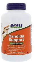 Противокандидное засіб, Candida Support, Now Foods, 180 капсул