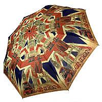 Женский облегченный складной зонт-автомат с изображением Лондона / London, 2F/shtorm-2