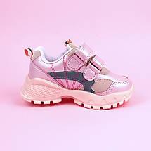 7889C Детские кроссовки для девочки розовые тм Tom.M размер 22,23,24, фото 3