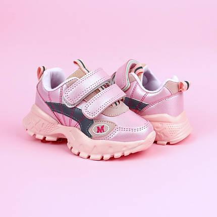 7889C Детские кроссовки для девочки розовые тм Tom.M размер 22,23,24, фото 2