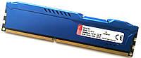 Игровая оперативная память Kingston HyperX Fury DDR3 4Gb 1600MHz PC3 12800U 1R8 CL10 (HX316C10F/4) Б/У, фото 1