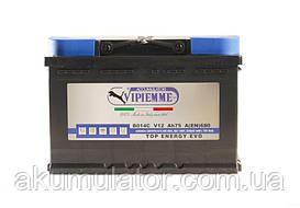 Акумулятор автомобільний Vipiemme    75-0 (R+) (680A)