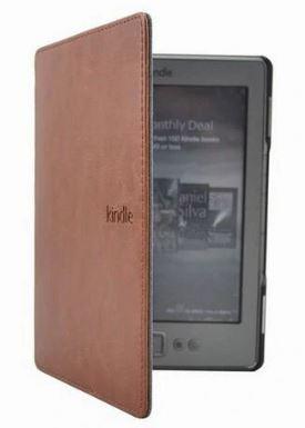 Чехол для Amazon Kindle 4 5 d01100  Коричневый