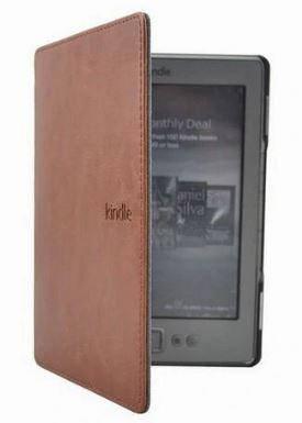 Чехол для Amazon Kindle 4 5 d01100  Коричневый, фото 2
