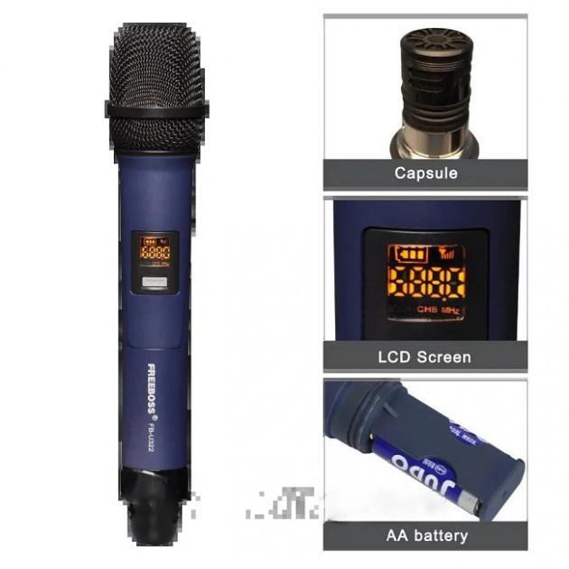 Універсальний вокальний кардіоїдний радіо мікрофон SHUPERD M 1