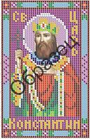 """Схема для вышивки бисером """"Святой царь Константин"""""""