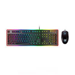 Клавіатура USB, ігрова + мишка Cougar Deathfire EX Black