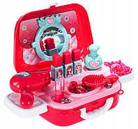 Набор детской декоративной косметики для девочек аксессуары в виде сумочки муляж Beauty Set 17в1
