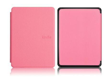Чехол обложка для Amazon Kindle Paperwhite 4 2018 Автосон Розовый 10gen