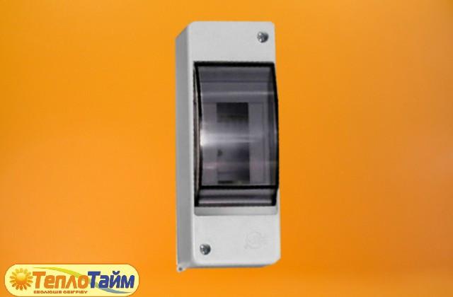 Щиток электрический под 1-2 автоматы (с крышкой)