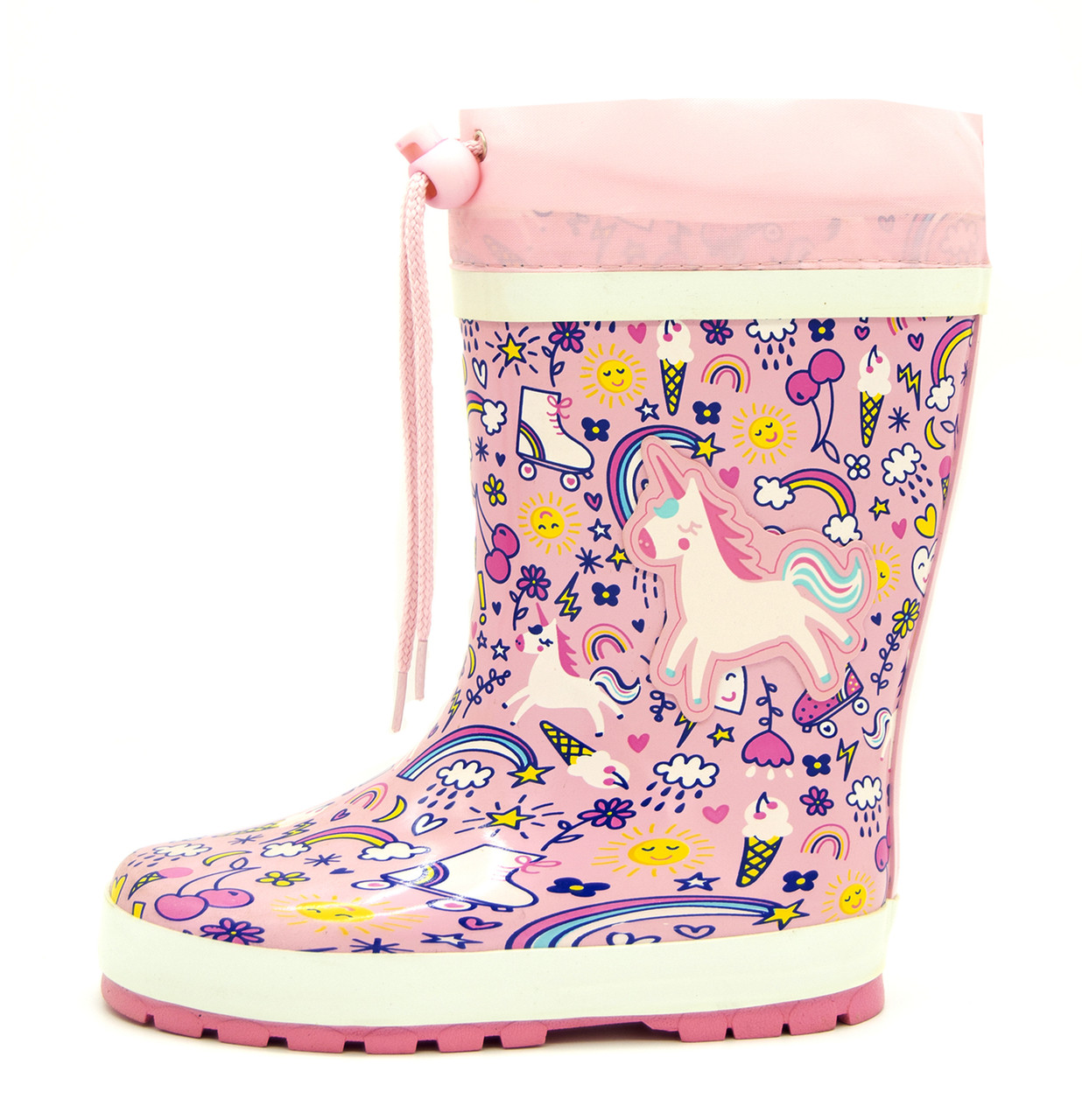 Гумові чоботи Для дівчинки Рожевий