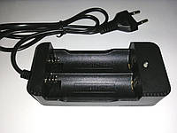 Зарядное для Li-ion аккумуляторов 2 х 18650, 22650, 26650, 220V