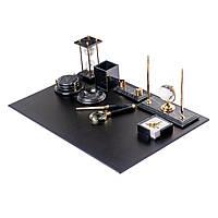 Настольный набор мраморный для руководителя на 10 предметов BST 540206 70х50 см.