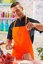 Фартук для повара Т-132-F (orange) TEXSTYLE