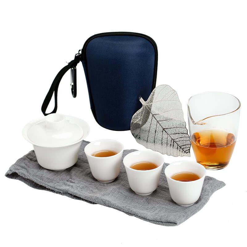 Чайный набор для путешествий из 8 предметов