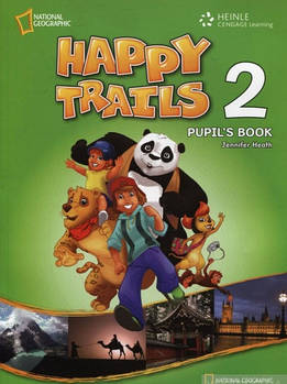 Happy Trails 2 Pupil's Book with CD