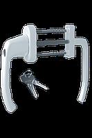 Балконный гарнитур с ключом Astex ANTEY BHS 2/3 цвет белый RAL 9016