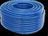 Армована ниткою ПВХ трубка SYMMER SHX ChemTex Ø 10.0х2.5мм 50м синя, фото 2