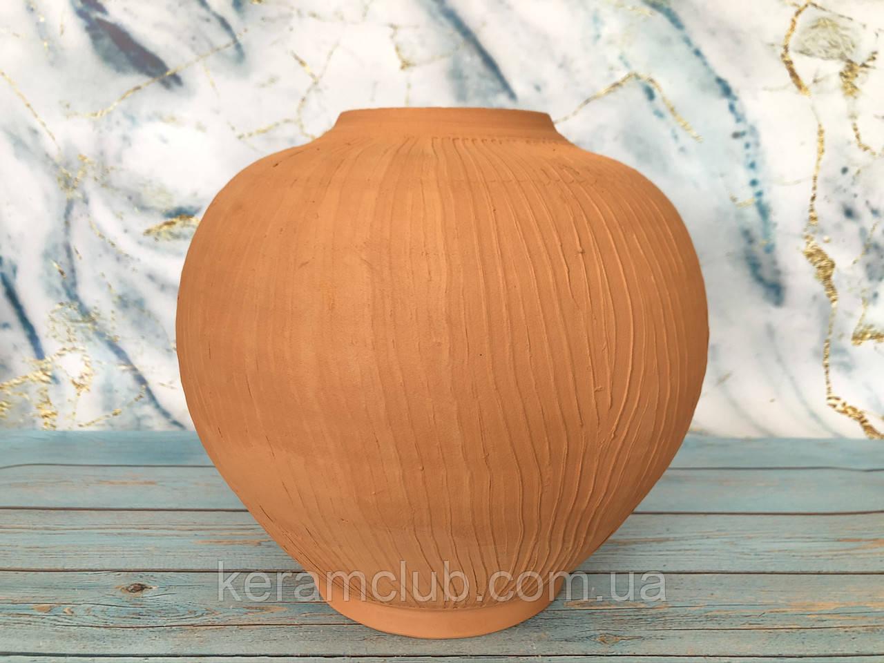 Гончарная ваза ручной работы Окулус h21