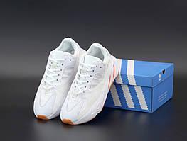 Женские кроссовки Adidas Yeezy Boost 700 \ Адидас Изи Буст 700 Белые \ Жіночі кросівки Адідас Ізі Буст 700