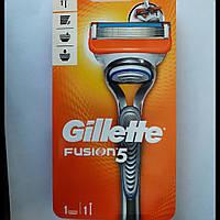 Станок для бритья мужской Gillette Fusion 5 (джилет фьюжен 5 станок + 1 картриджа)