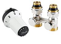 """Комплект нижнего подключения радиаторов(батарей) RAS-CK+RLV-KS 1/2"""" прямой Danfoss"""