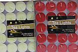 Свечи чайные набор 50 шт., фото 3