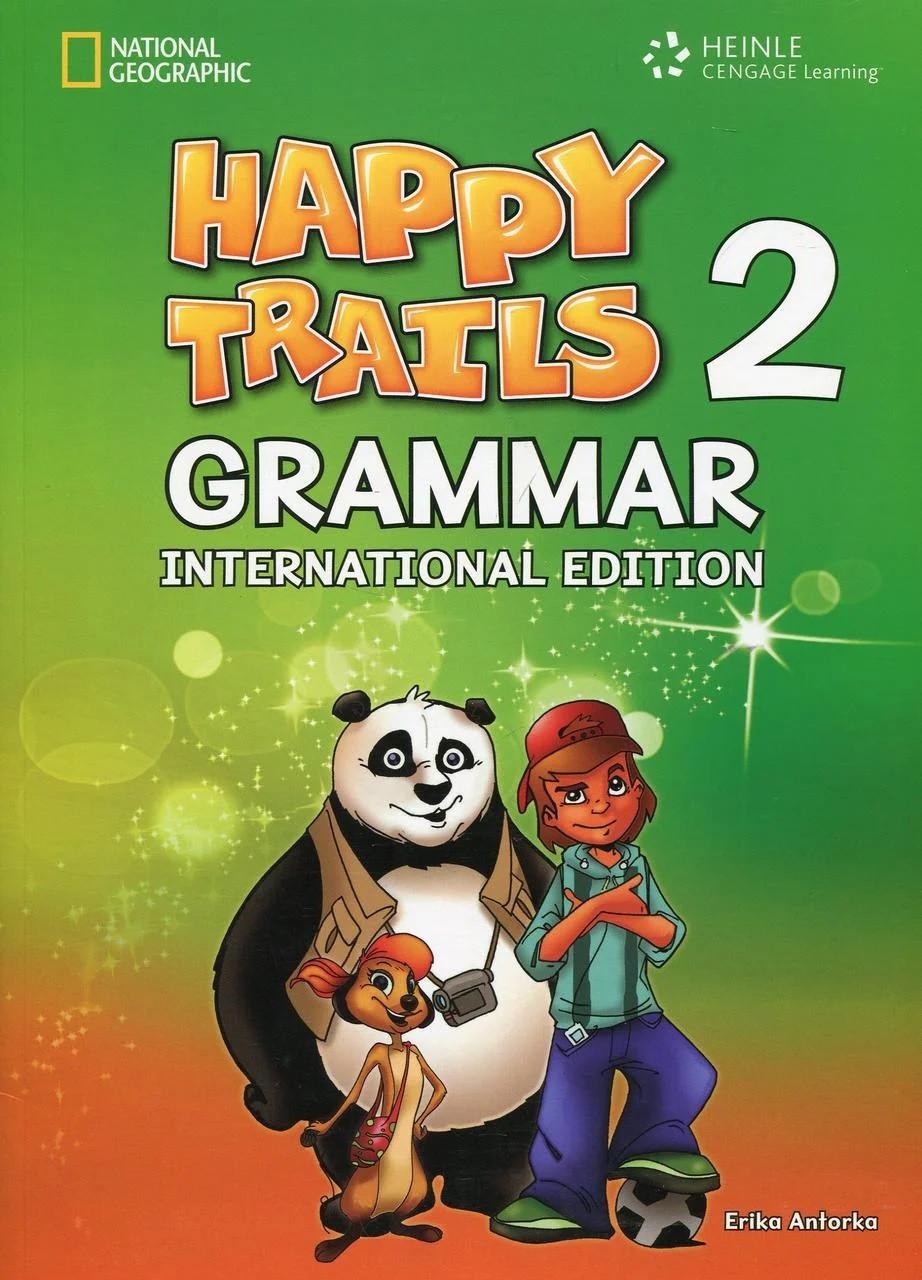 Happy Trails 2 Grammar Studen't Book International Edition