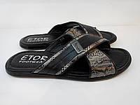 Шльопанці Etor 573-3715-633 чорний, фото 1
