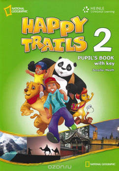 Happy Trails 2 Pupil's Book with Key overprint