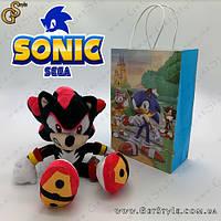 """Игрушка Ёж Шэдоу - """"Shadow Hedgehog"""" с фирменным пакетом, фото 1"""