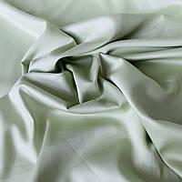 Сатин Люкс однотонный фисташковый, ш. 240 см, фото 1