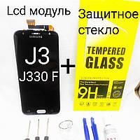 Екран, дисплей, модуль Samsung Galaxy J3 2017р, J330, фото 1
