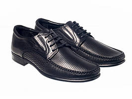 Мокасини Etor 12795-7188-6 чорний