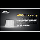 Дифузійний фільтр ТК41/ТК60 білий Fenix AOD-L, фото 4