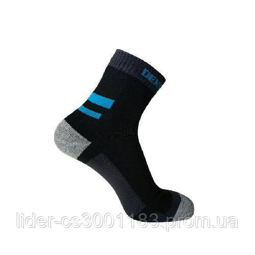 Dexshell Running Socks L Шкарпетки водонепроникні  з блакитними смугами