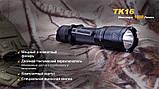 Ліхтар ручний Fenix TK16 XM-L2 U2, фото 6