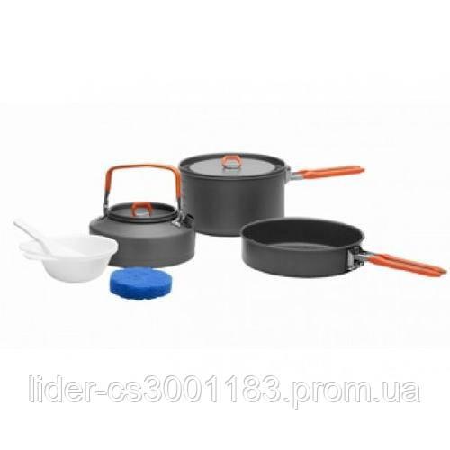Набір посуду для 2-3 персон Fire-Maple Feast 2 чорнi  ручки