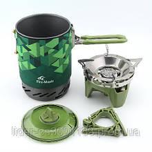Система приготування їжі Fire-Maple FMS-X2 зелена