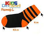 Dexshell Children soсks orange M Шкарпетки водонепроникні  для дітей помаранчеві, фото 4