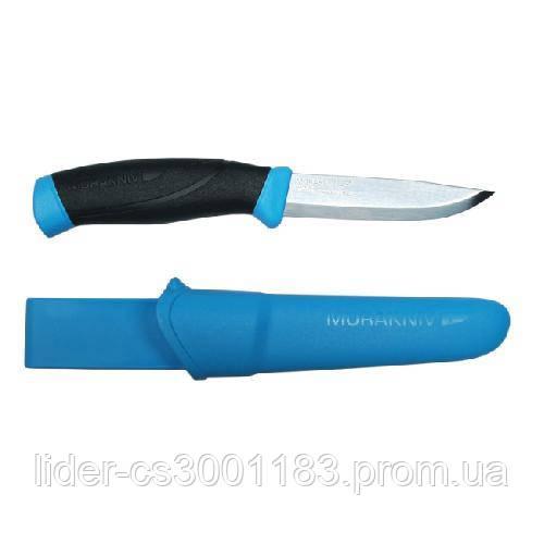 Ніж Morakniv Companion Blue нержавіюча сталь колір  блакитний