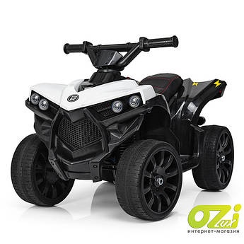 Детский квадроцикл на аккумуляторе M 3638EL-1 белый