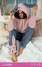 Пижамка тёплая с капюшоном, Sexen